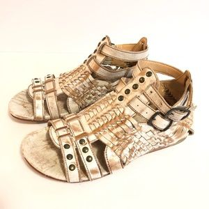 Bed Stu Claire Gladiator Leather Sandal Size 6 B